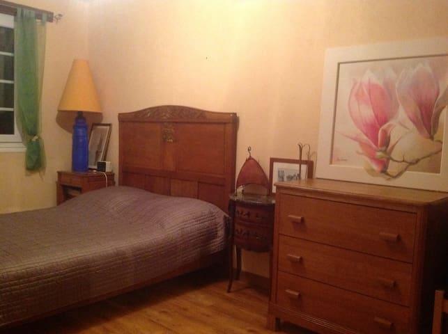 Agréable chambre à 45 mn de Paris - Verneuil-l'Étang - Rumah
