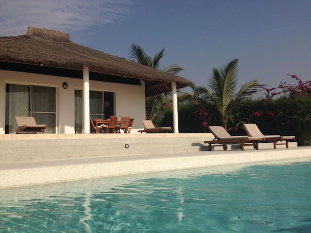 Belle villa avec vue sur l'océan et piscine - Cap Skirring