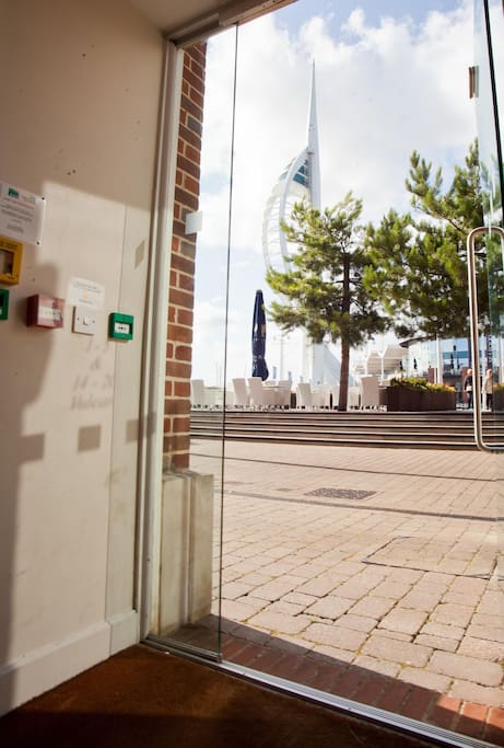 The Spinnaker Tower and Loch Fyne is right on your doorstep!