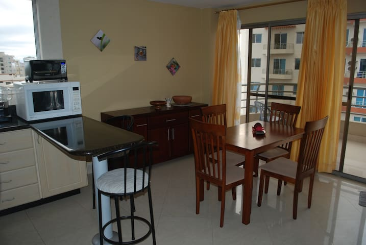 Beautiful 1 bedroom close to beach - Manta - Appartement