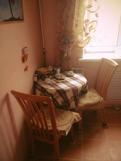 fine place to have a breakfast, kitchen