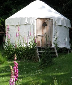 YURTS in the magical Okuti Garden - Little River