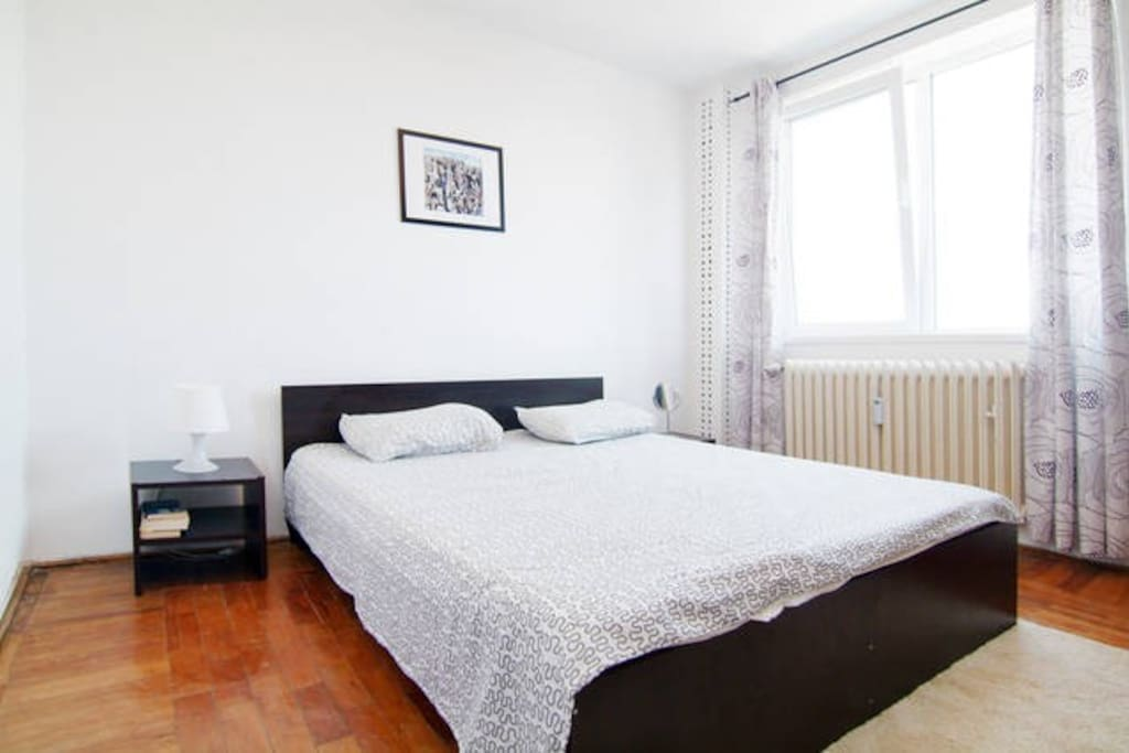 This bedroom is situated on the east side of the building, it offers a great view to the Black Sea