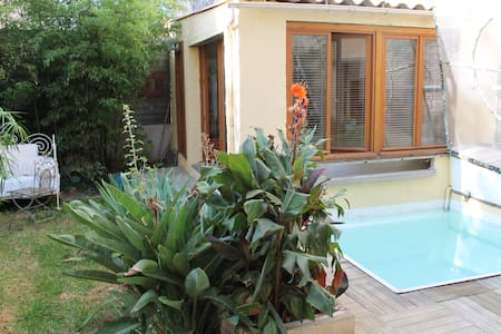 chambre privée piscine centre ville - Perpignano