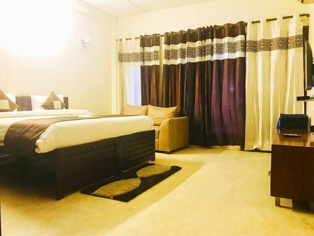OLIVE Cozy Studio with Kitchen City Centre Gurgaon