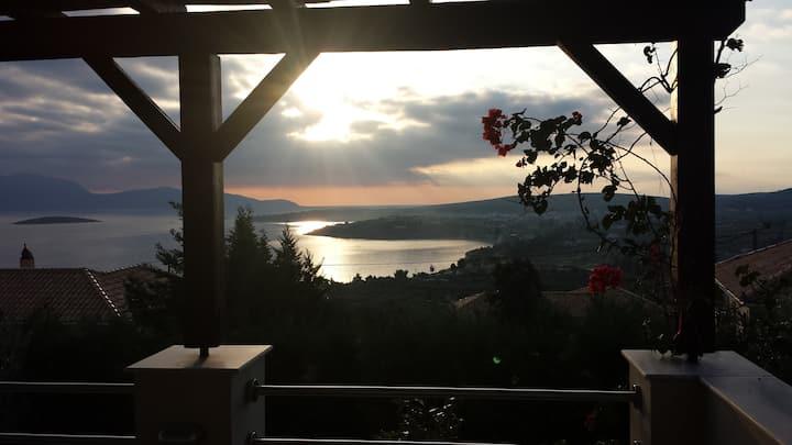 Majestic Mountain-Sea View Villa