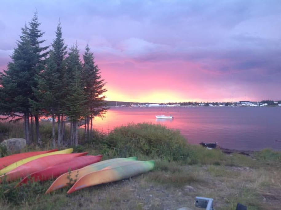 Sunset at Experience Labrador