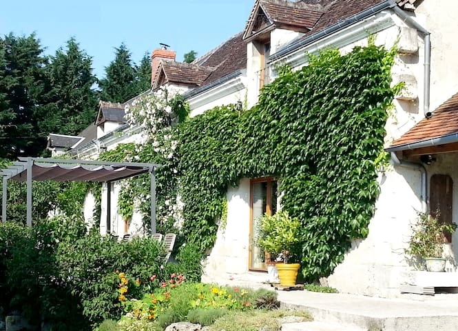Spacious house with heated pool - Clère-du-Bois - House