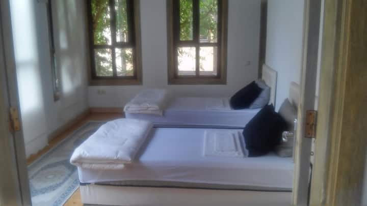 bed in shared room for girls middle of the OldTown