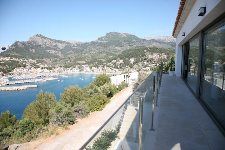 Villa Blau de Luna con vistas espectaculares