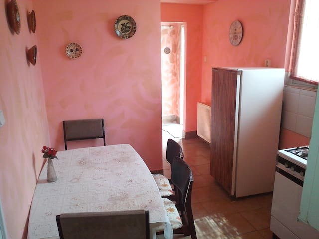 6 person apartmenear by to Budapest - Diósd - Casa