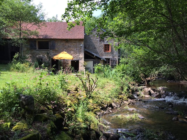 Have you ever stayed in a watermill - St Priest des Champs - Cabana