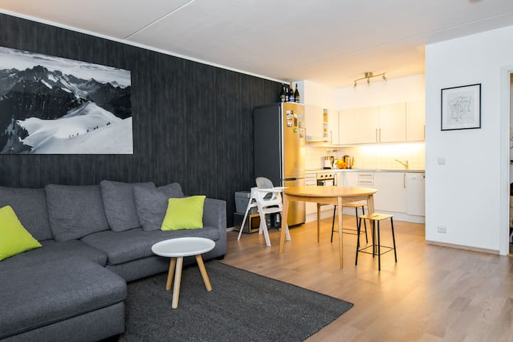 Cosy apartment between city and nature - Oslo - Apartment