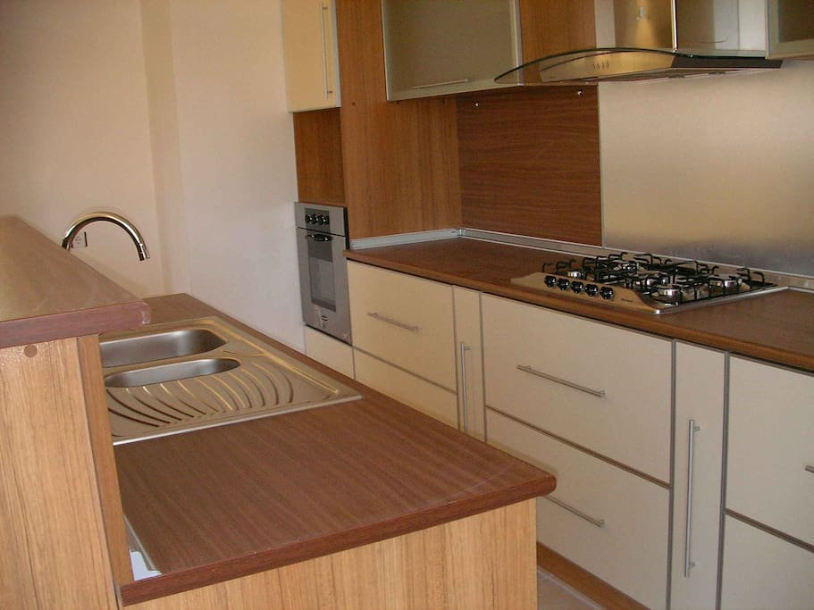 Kitchen - Common Area - You can cook your own delicious mediterranean experience