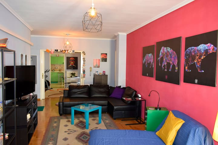 Friends&Family Friendly Apartment PRIVATE PARKING