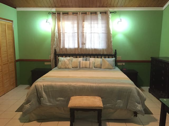 The Snuggle at 48 Baymen Ave. - Belize City - Casa