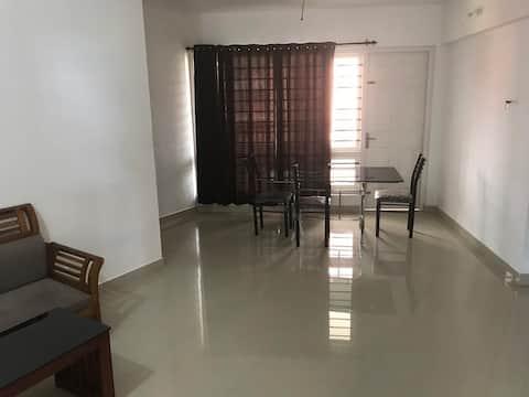 Fully Furnished 2bhk flat in Calicut