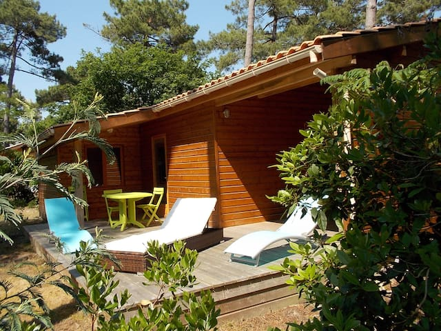 chalet chm montalivet - Vendays-Montalivet - Bungalow
