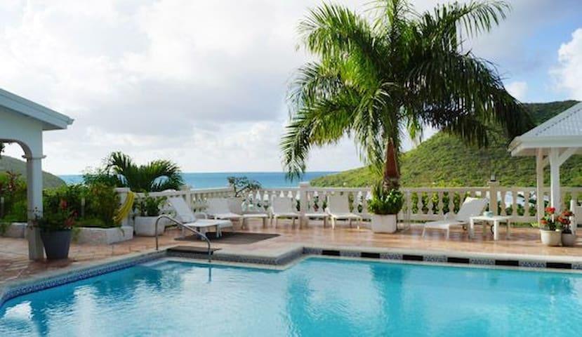Villa in Saint Martin/St Maarten, French Caribbean - Cul-de-Sac - Hus