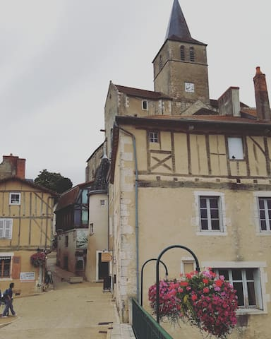 Beautiful french home set in an idyllic village.