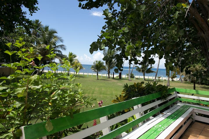 Beachfront paradise in private gated community