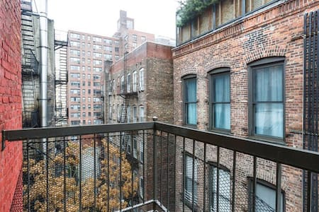 Penthouse w/ Private Balcony & Nice Views - New York