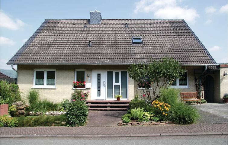 Holiday apartment with 1 bedroom on 65 m² in Oberweser/Gieselwerder