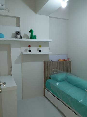 Apartment in a residence with complete facilities