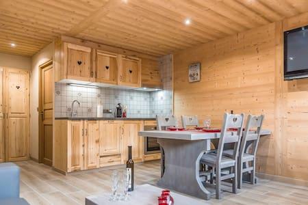 Appartement neuf dans un chalet situé plein sud - La Chapelle-d'Abondance