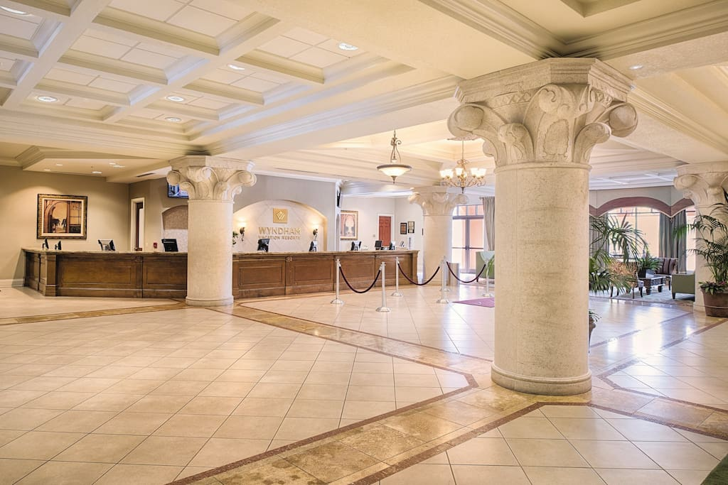Resort Lobby area.