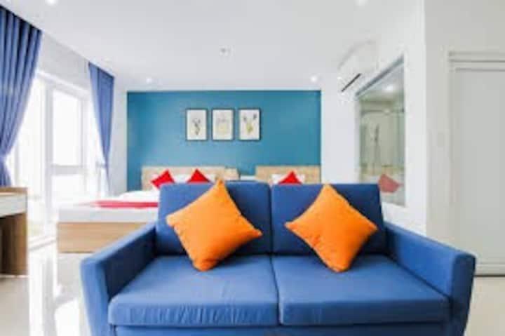 Suri ApartHotel-2 Bed, Balcony, Seaview, kitchnte