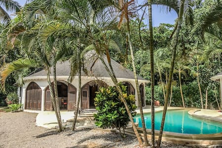Villa Serenella bungalow close to Punta Popy beach - Las terrenas