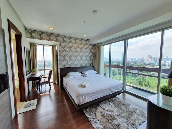 Prestigious 2 BR Apartment The Mansion at Kemang