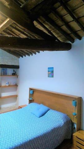 2ème chambre 1 lit 2 personnes 140x190 cm