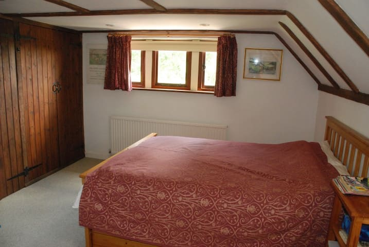 The double bedroom, eastward view.