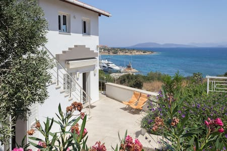 Apartment Great Sea/Marina View 1st - Çeşme - อพาร์ทเมนท์