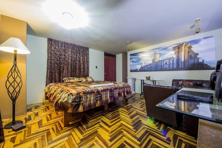 Sillary Hostal Boutique- Suite Deluxe Catedral - Arequipa - Huis
