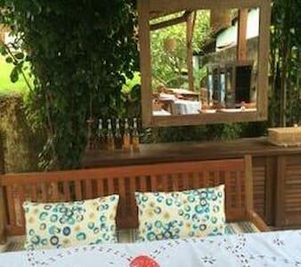 Suíte Casal no paraíso de águas mansas - AL - Porto de Pedras - Bed & Breakfast