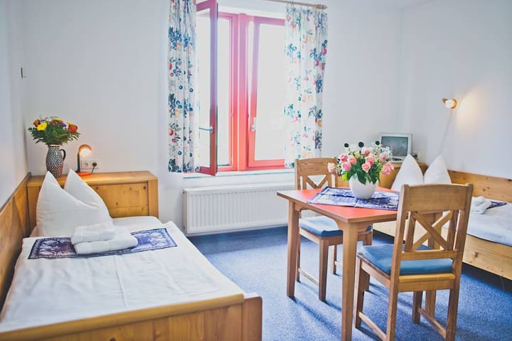 Double Room in tranquile paradise - Seifhennersdorf - Bed & Breakfast