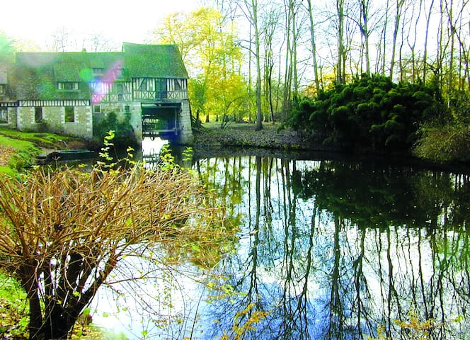 Moulin (près de GIVERNY) (Jongleur) - Andé - Bed & Breakfast
