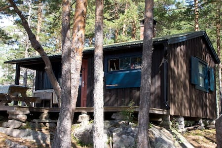 Greatly situated cabin by the Lake - Kviteseid