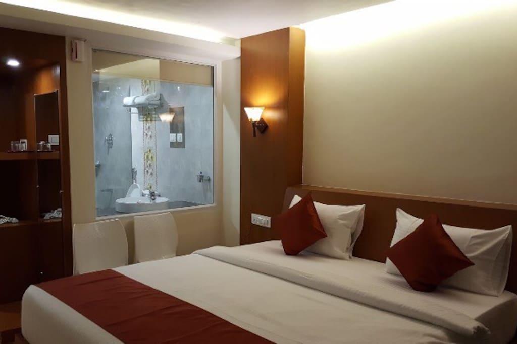 Deluxe room ' ₹4200