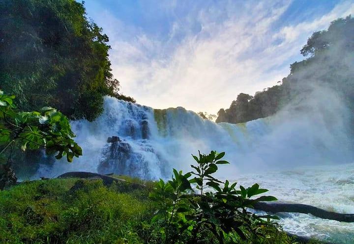 Réveillon na Cachoeira - Meia pensão e atração