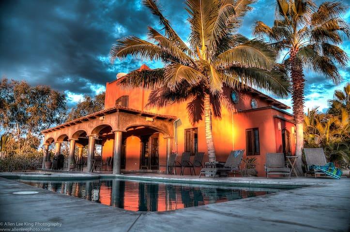 Casa El Posito - Ocean Front -Todos Santos - Todos Santos - Haus