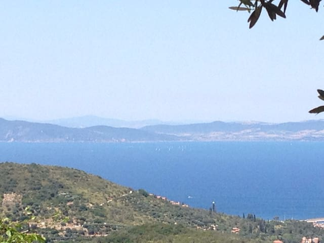 Awesome view of Mediterranean sea