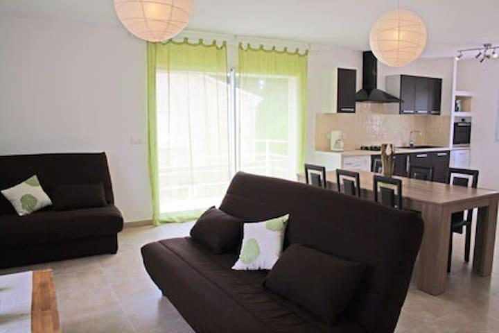 Villa Climatisée 4* à 5mn de la mer - Sorbo-Ocagnano - Casa