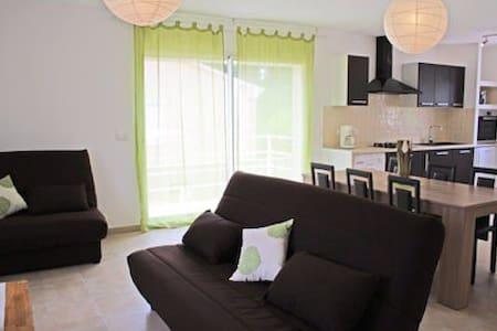 Villa Climatisée 4* à 5mn de la mer - Sorbo-Ocagnano - Rumah