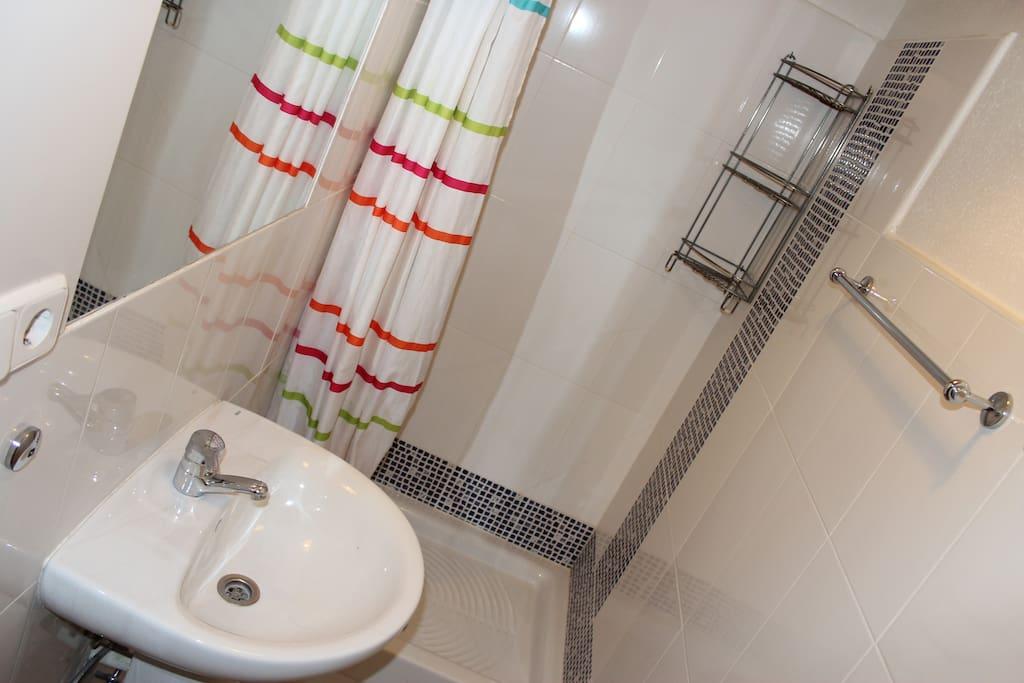 Semi-private bathroom
