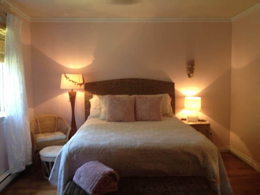 Ma chambre à coucher (disponible si vous la préférez, moyennant supplément).
