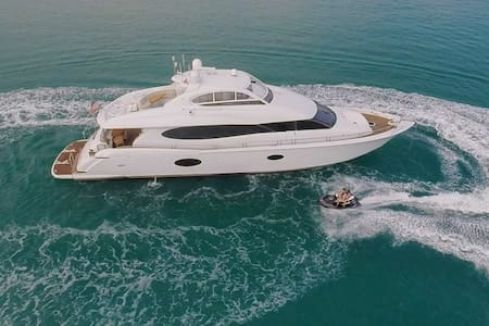 84' Lazzara Luxury Yacht Full Day Charter (8hrs) - Miami Beach